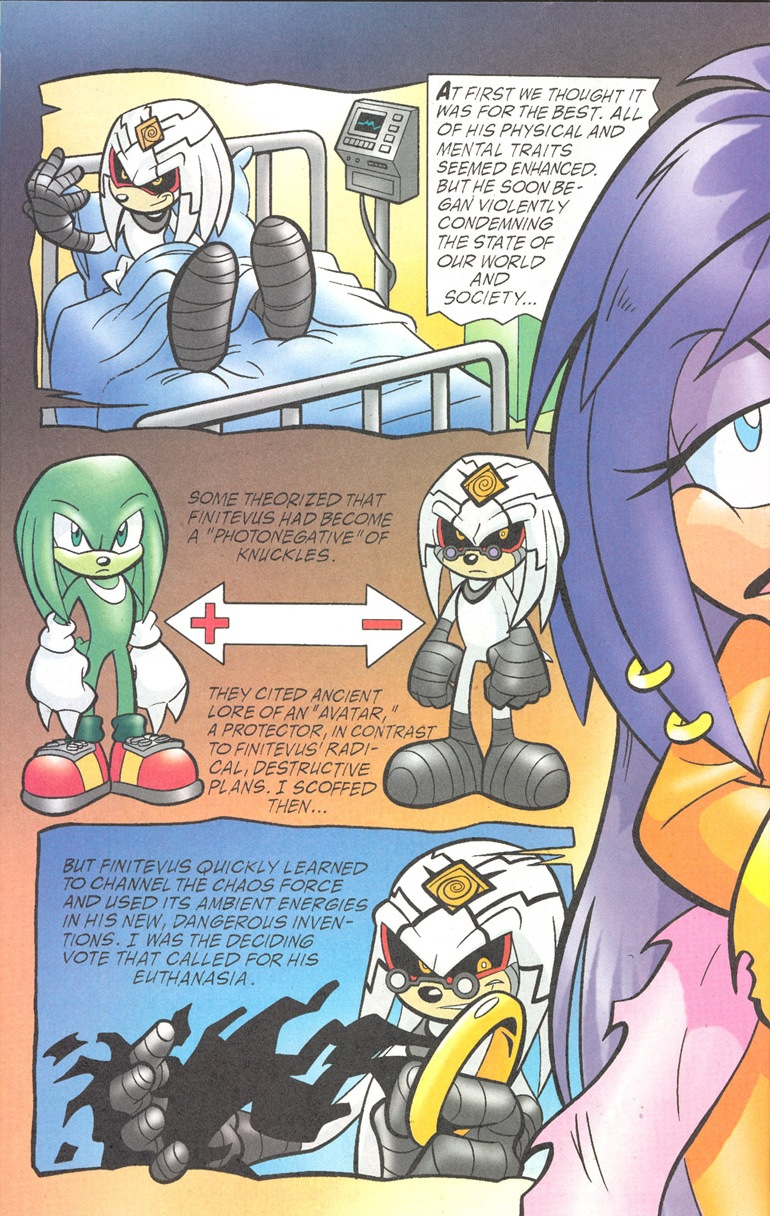 Read online Sonic The Hedgehog comic -  Issue #182 - 21