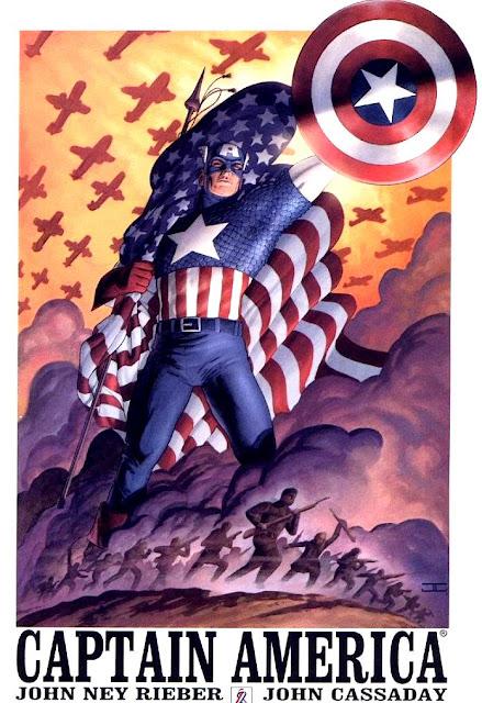 MEGA POST: Capitão América Vol.4 - Resenha e Download