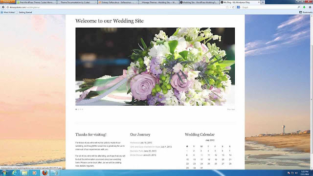 Making A Wedding Website