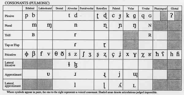 international phonetic alphabet english - Ecosia
