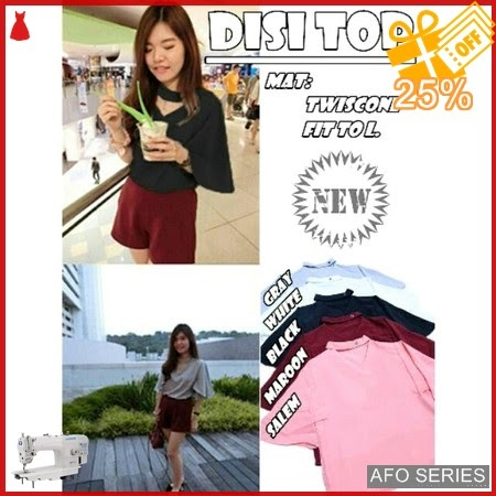 AFO396 Model Fashion Disi Top Modis Murah BMGShop