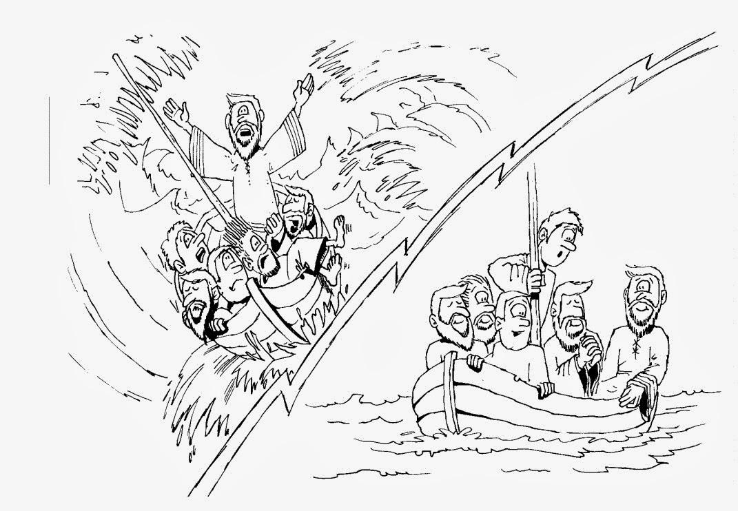 Pesca Milagrosa Dibujos Animados