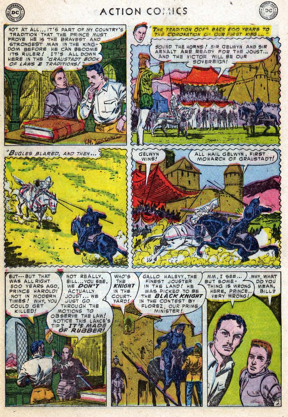 Action Comics (1938) 187 Page 17