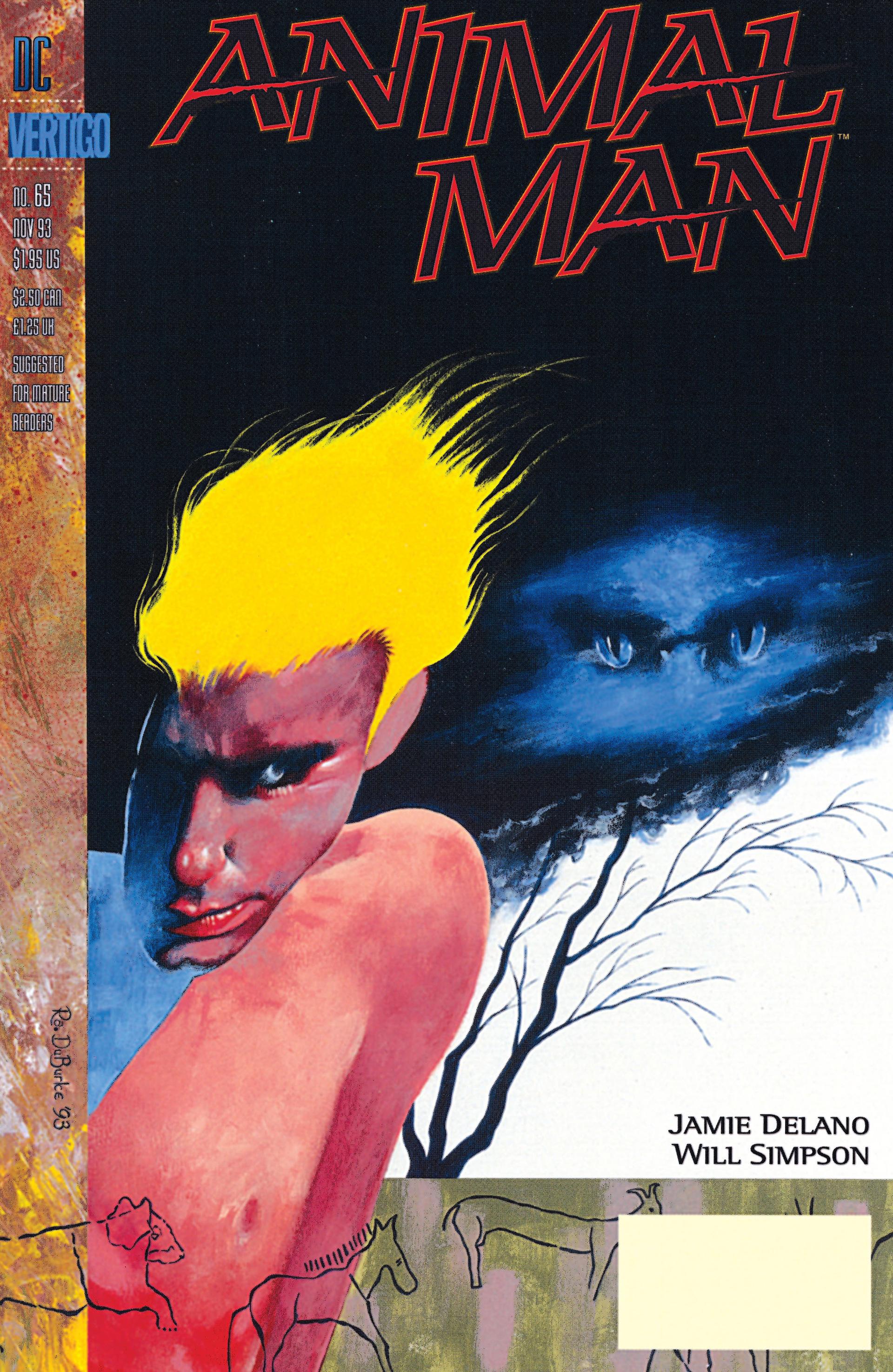 Animal Man (1988) 65 Page 1
