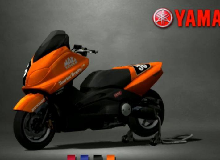 Yamaha TMAX 2005 Racing Modify