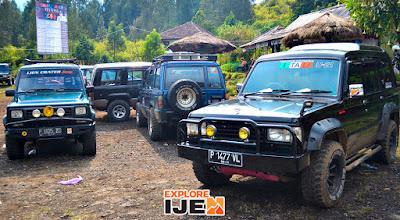 jeep kawah gunung ijen