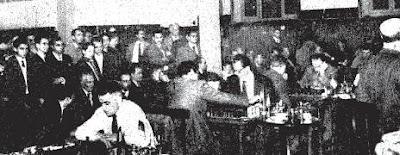 Desarrollo de las partidas en el II Torneo Internacional de Ajedrez Madrid 1957