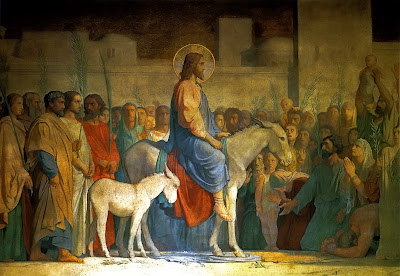 Resultado de imagen de entrada jesus jerusalen