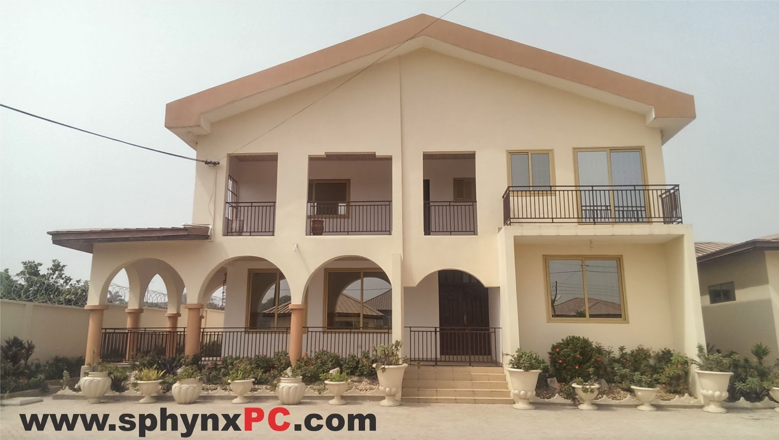 Sphynx east airport accra ghana house for sale visit for Modern houses in ghana