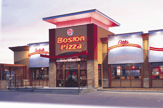 Boston Pizza Utdelning
