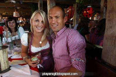 Oktoberfest Bayern Munich Players Visit