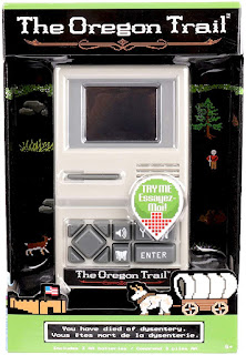 Image: The Oregon Trail Handheld Game | Authentic 80's graphics, sounds and game play just like you remember!