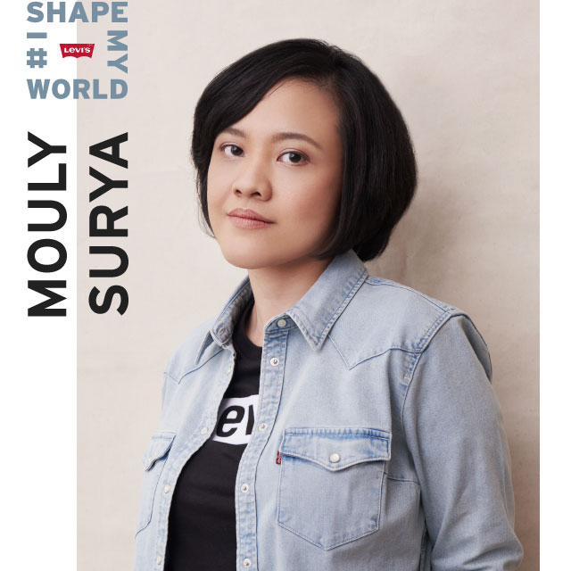 mouly surya - i shape my world