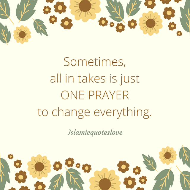 Sometimes, All in takes is just one prayer to change everything.