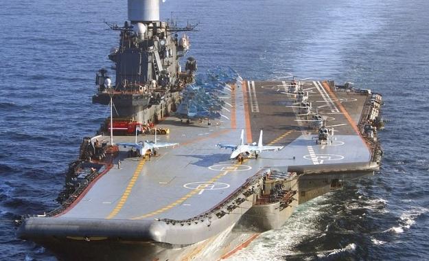 Στη Μεσόγειο για επιχειρήσεις στη Συρία το ρωσικό αεροπλανοφόρο Admiral Kouznetsov