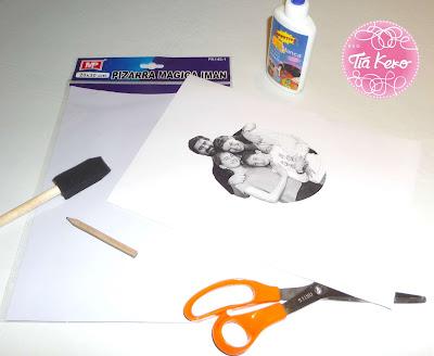 manualidades con niños y fotos