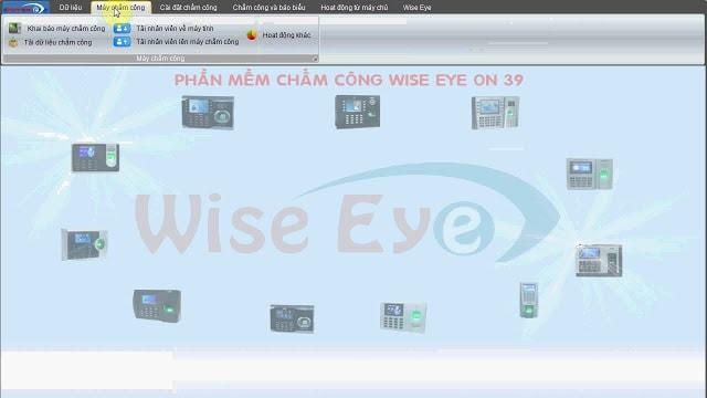 máy chấm công Wise Eye