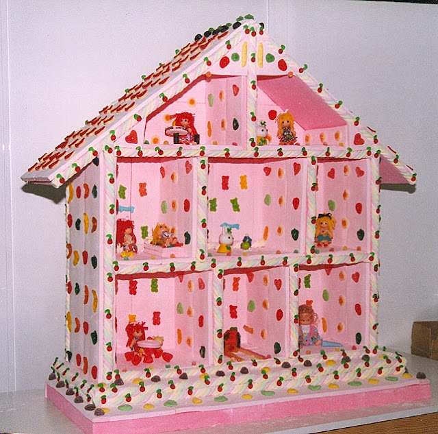 Casa de Muñecas Pastel de chuches