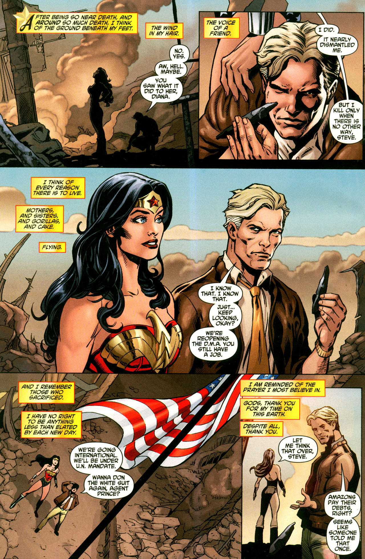Read online Wonder Woman (2006) comic -  Issue #42 - 10