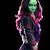 PNG Gamora (Guardians of The Galaxy, Guardiões da Galaxia)