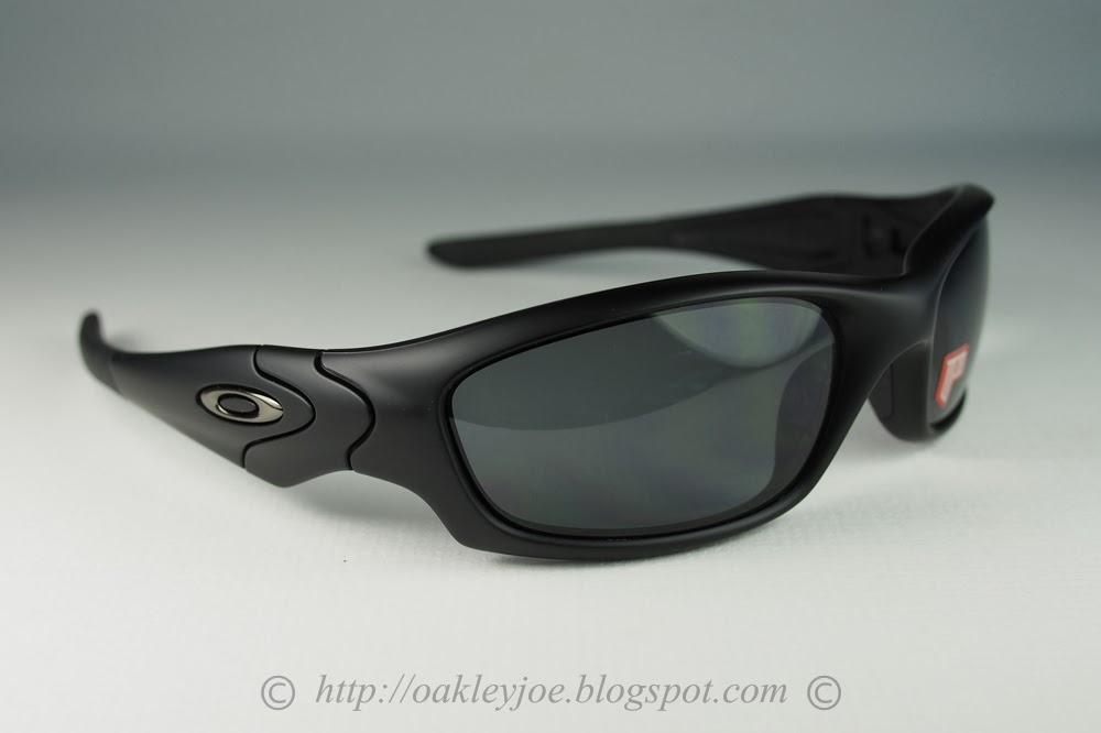 e8239892ac Oakley Straight Jacket Polished Black L Deep Blue Iridium Polarized ...