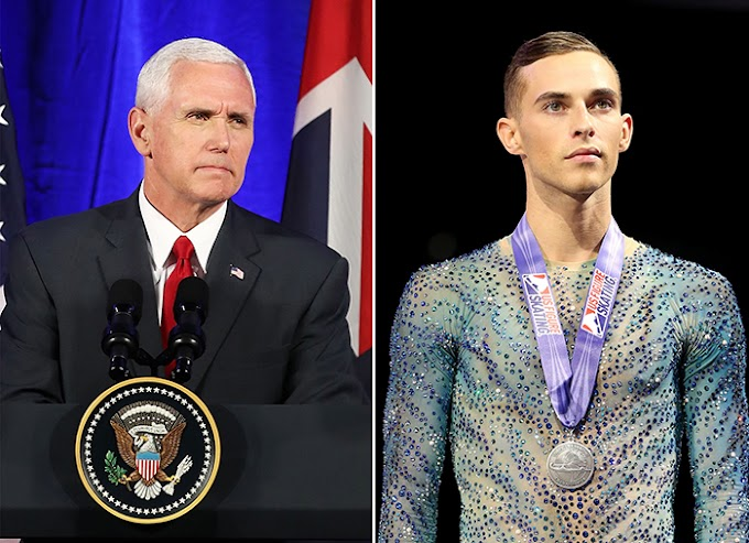 Patinador americano recusa encontro com o homofóbico vice-presidente dos Estados Unidos