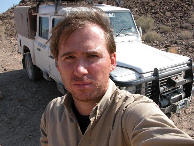 Selfie Landrover Defender