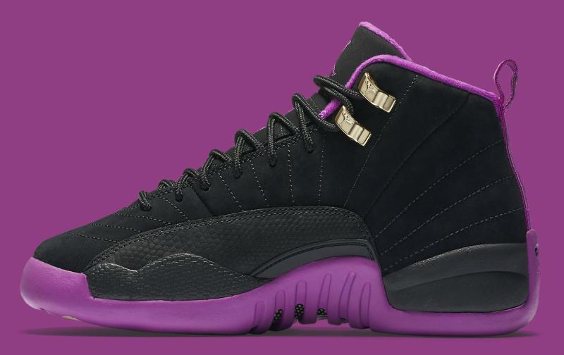 best loved 05515 f1ca6 Air Jordan 12 GG Release Date  06 18 16. Color  Black Metallic Gold  Star-Hyper Violet Style    510815-018