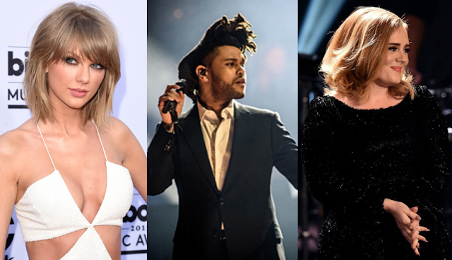 Lista de nominados a los iHeartRadio Music Awards 2016.