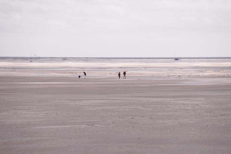 Amrum Kniepsand Wittdün Strand Nordsee Watt Sommer Juli Urlaub Spaziergang