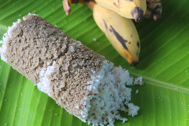 Kambu Maavu Puttu Recipe - Pearl Millet Puttu Recipe