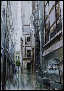 Pintura a l'oli d'Aida Mauri, Sabadell