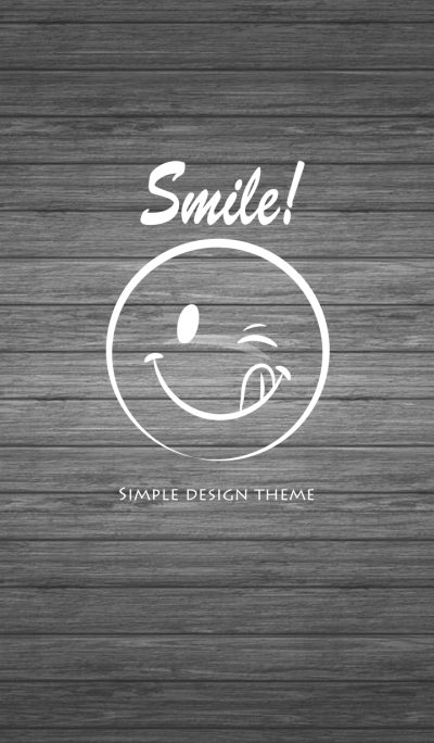 Simple Smile Wood. 4
