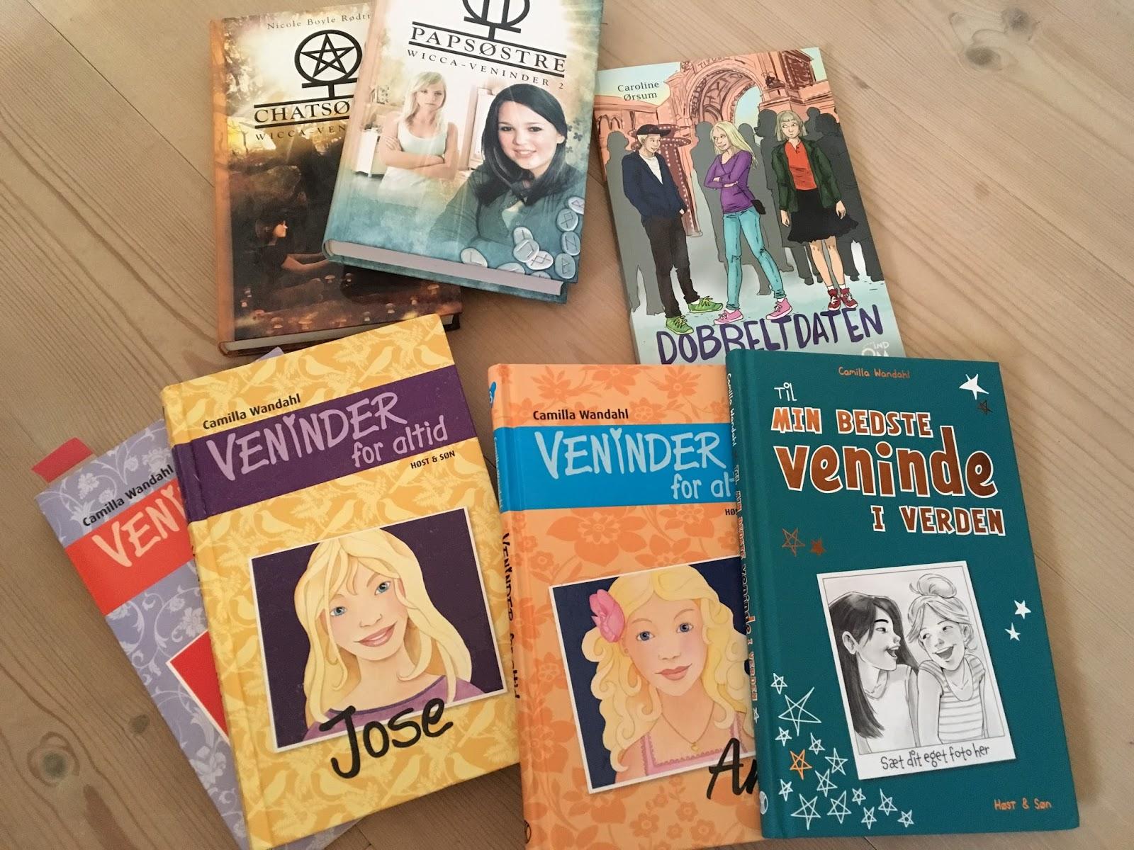 pigebøger 8 år