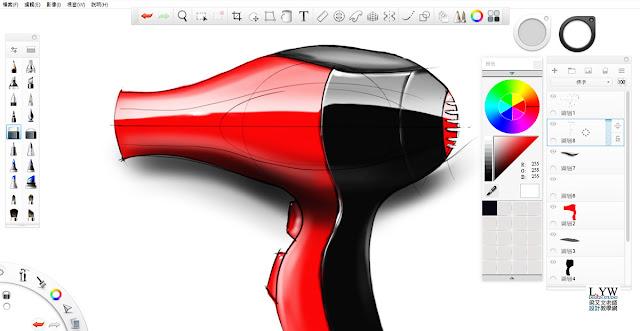 Sketchbook Pro 快速設計表現技法教學10