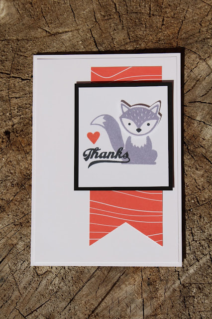 Foxy Friends stamp set Stampin' Up!