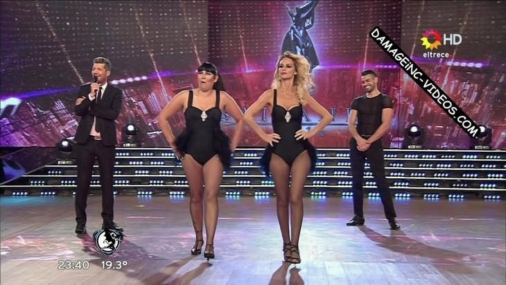 Sabrina Rojas hot body in Showmatch 2016 damageinc videos HD