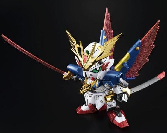 P-Bandai: SD Legend BB Musha Victory Gundam Super Steel Ver.