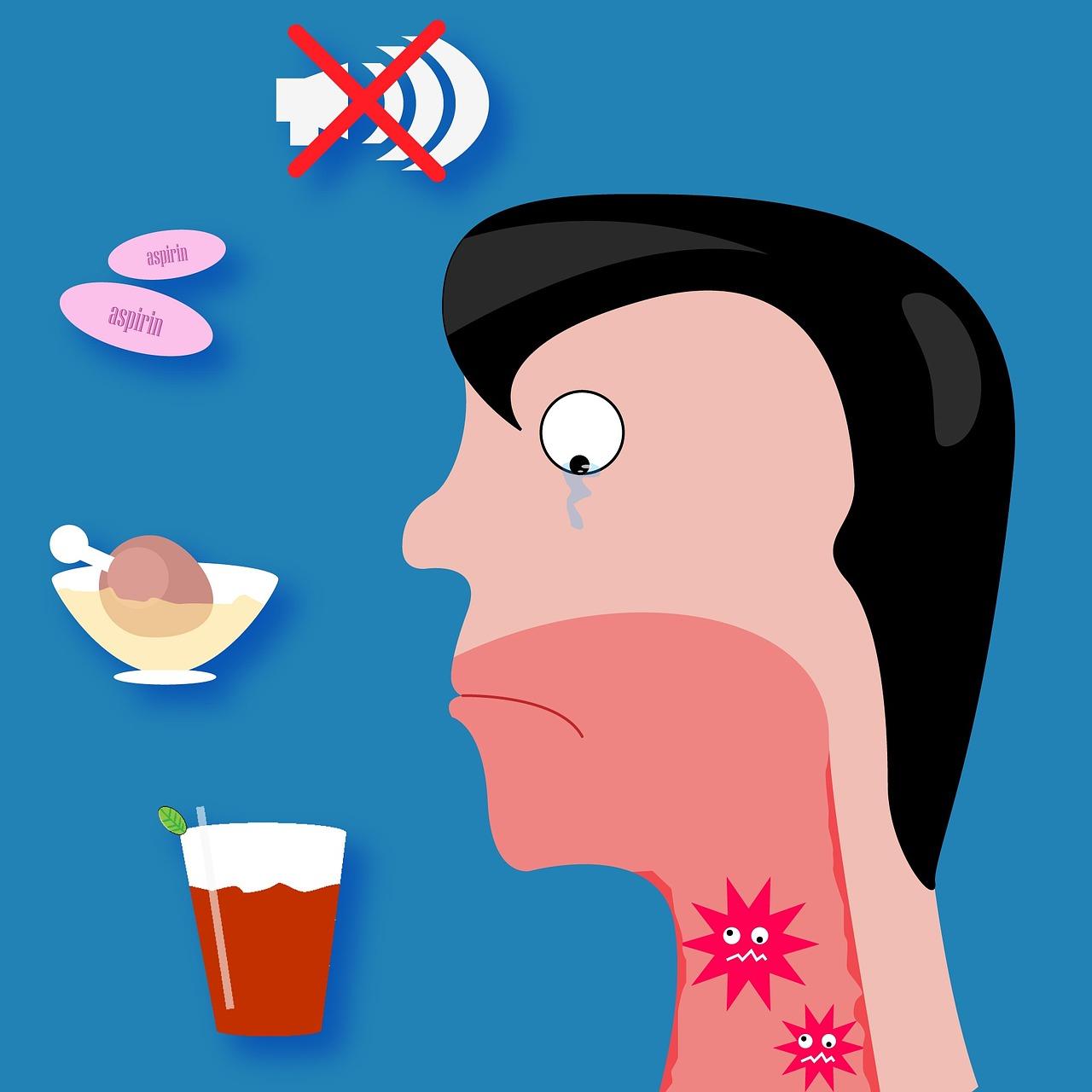como quitar el picazon de la garganta