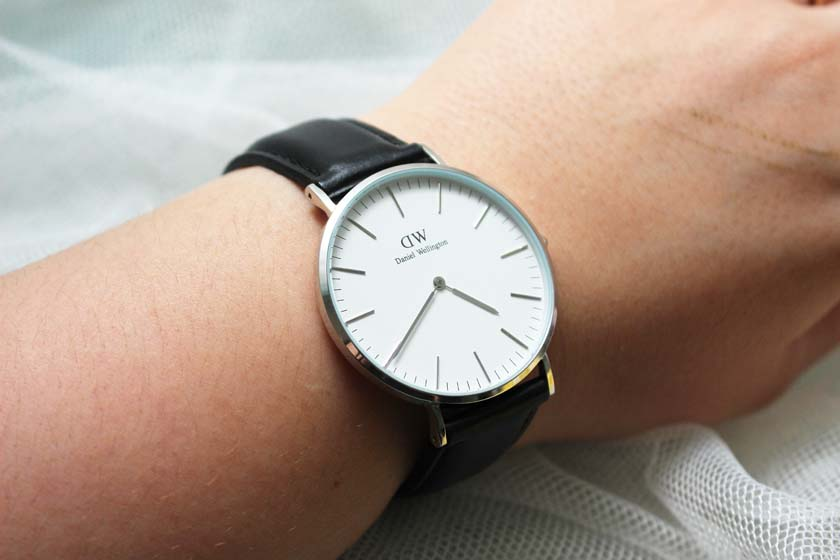dc4986ca5276e DANIEL WELLINGTON BLACK SILVER WATCH BASIC - Ecosia