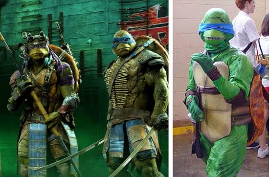 Cosplay Fail- Tartarugas Ninja