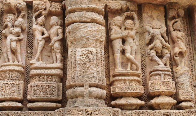 Is India a sexually frustrated country - these sculptures from Konark Sun Temple portray another story