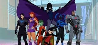 Liga da Justiça vs Jovens Titãs