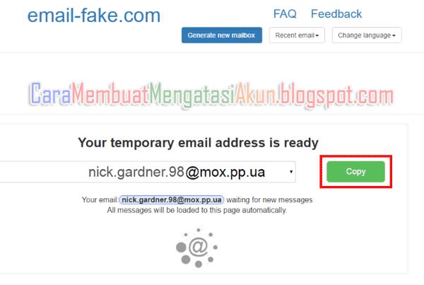 daftar instagram di web dengan fake email