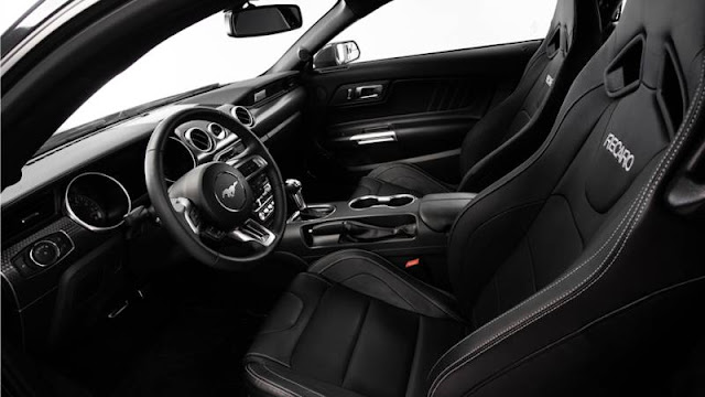 2018 Ford Mustang GT Las Vegas Golden Knights Interior