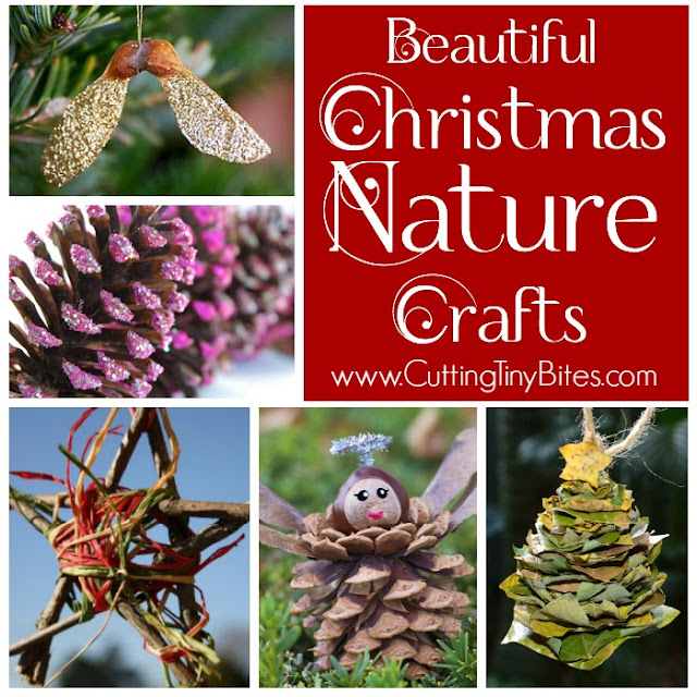 Christmas Nature Crafts For Kids What Can We Do With Paper And Glue