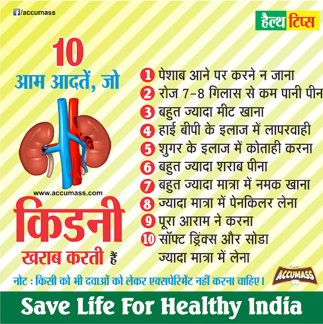 Tips for Kidney Health Care