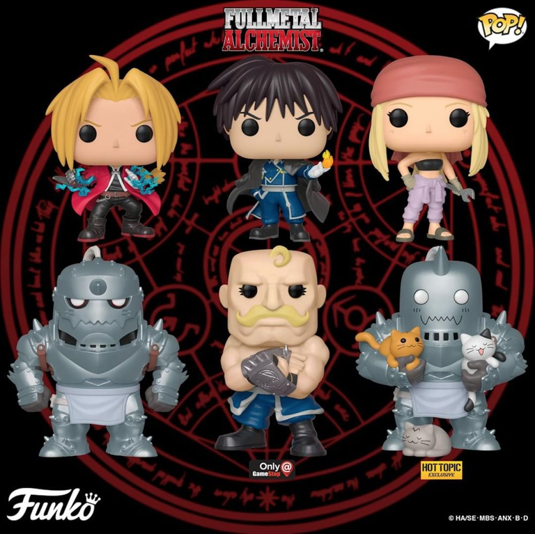 POP Animation Japan Expo 2019 Limited Fullmetal Alphonse Elric With Kittens