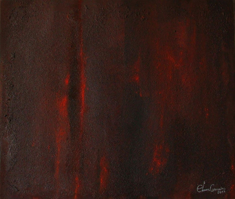 Técnica de texturas, inspiração e pintura - Elma Carneiro