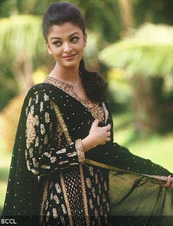 Aishwarya Rai Simple Suit